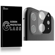 [2-Pack] For Rear Camera Lens of iPhone 11 Pro Max (2019 Release) [BISEN] Tempered Glass Screen Protector, Anti-Scratch, Anti-Shock, Shatterproof, Bubble Free