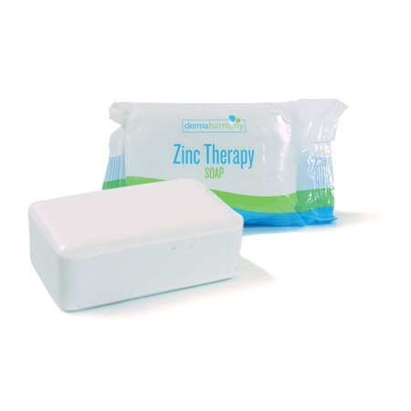 DermaHarmony 2% Pyrithione Zinc (ZnP) Bar Soap 4 oz - for Seborrheic Dermatitis and