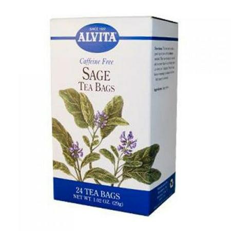 Alvita Caffeine Free Sage Tea 24 Bags