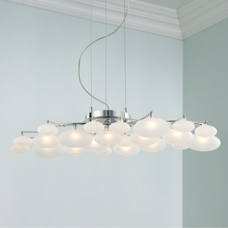 Possini Euro Design Chrome Chandelier 30