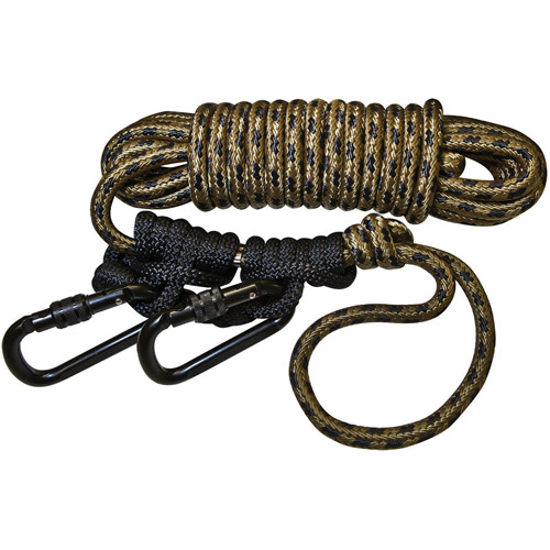 Hunter Safety Lifeline with 2 Prussic Knots