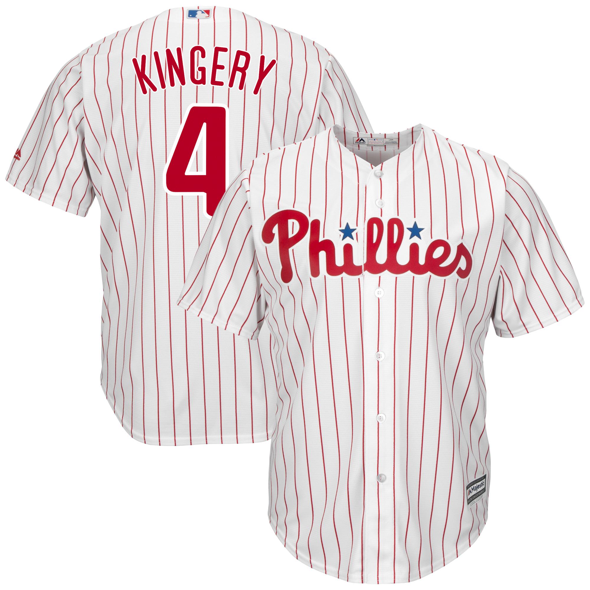 Scott Kingery Philadelphia Phillies Majestic Official Cool Base Player Jersey - White