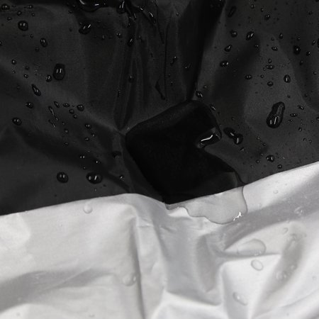 XXXL 190T Motorcycle Cover Outdoor Waterproof Rain Dust Protector Black Silver For Harley Davidson - image 6 of 7
