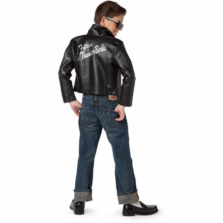 Fifties Thunderbird Jacket Child Halloween Costume - Fifties Costume Ideas