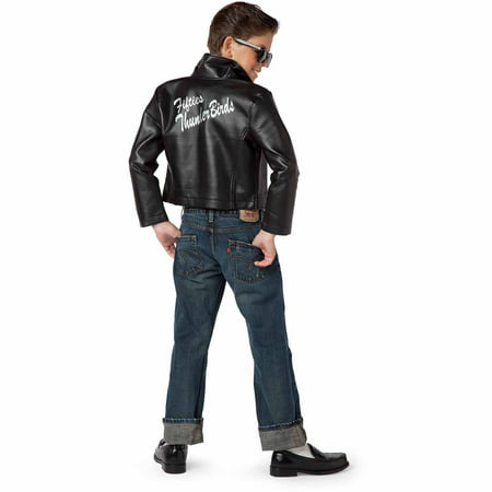 Fifties Thunderbird Jacket Child Halloween Costume](Trenchcoat Costume)