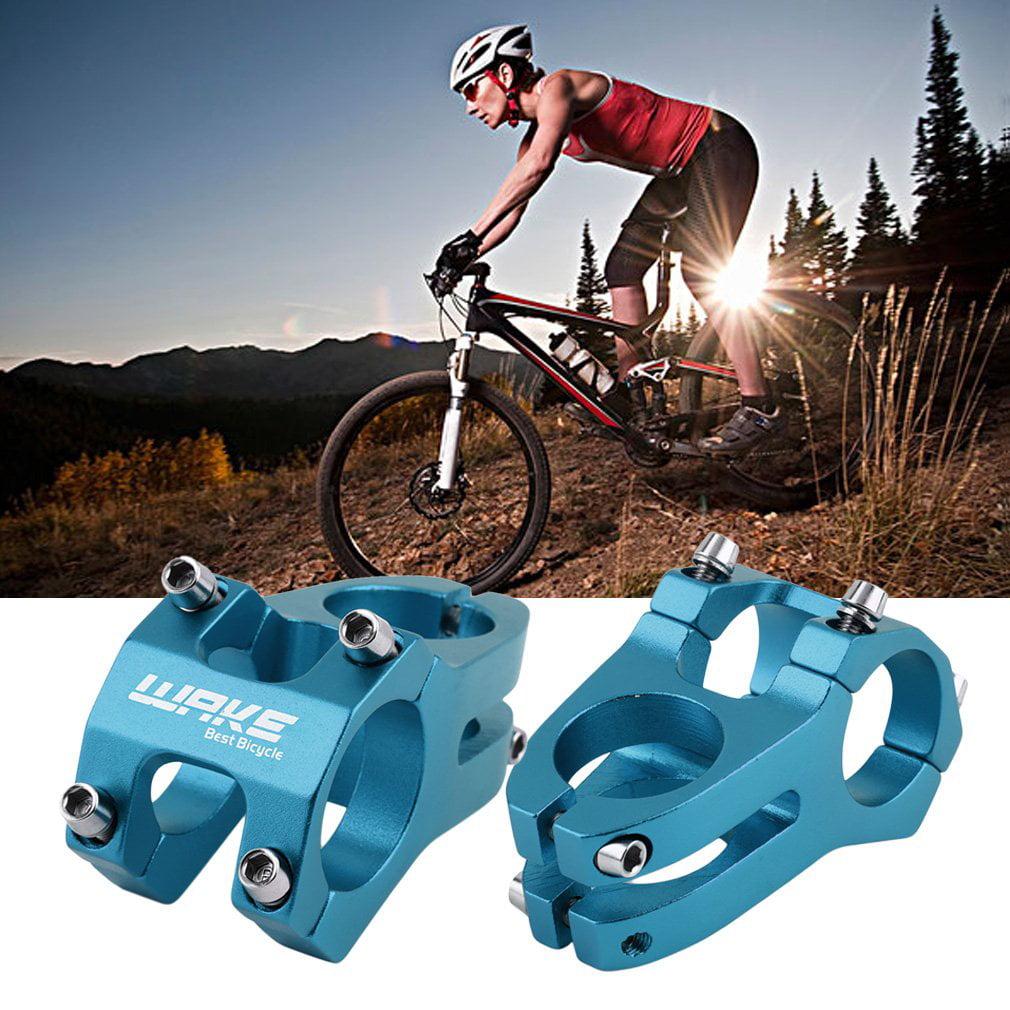 Aluminum Alloy Fixed 31.8mm Cycling Mountain Bike Short Handlebar Stem