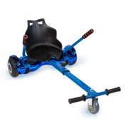 XPRIT Hover Kart, Fixation de siège Hoverboard, Réglable, Installation facile, Universel - Bleu