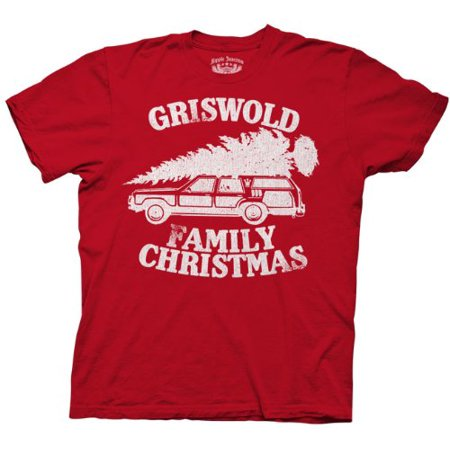 Christmas Vacation Griswold Family Christmas Adult T-Shirt ()