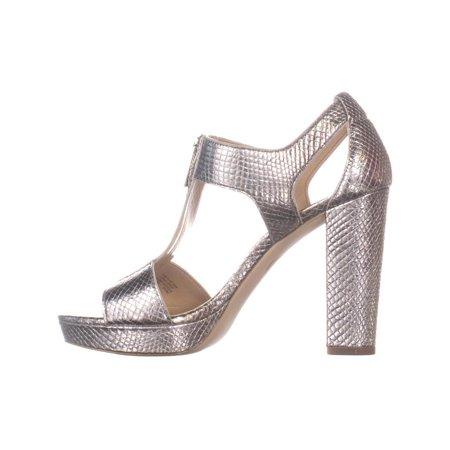 7960e239f2d8 MICHAEL Michael Kors Berkley Zipper Front Heeled Sandals