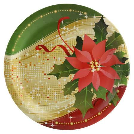 - Sparkling Christmas Dinner Plate (8)