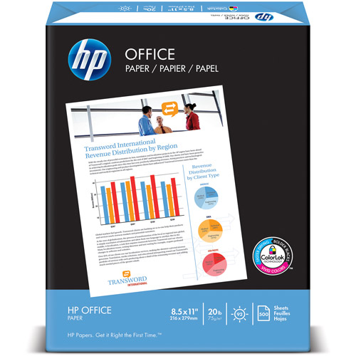 "HP 8-1/2"" x 11"" 500 Sheets Office Paper"