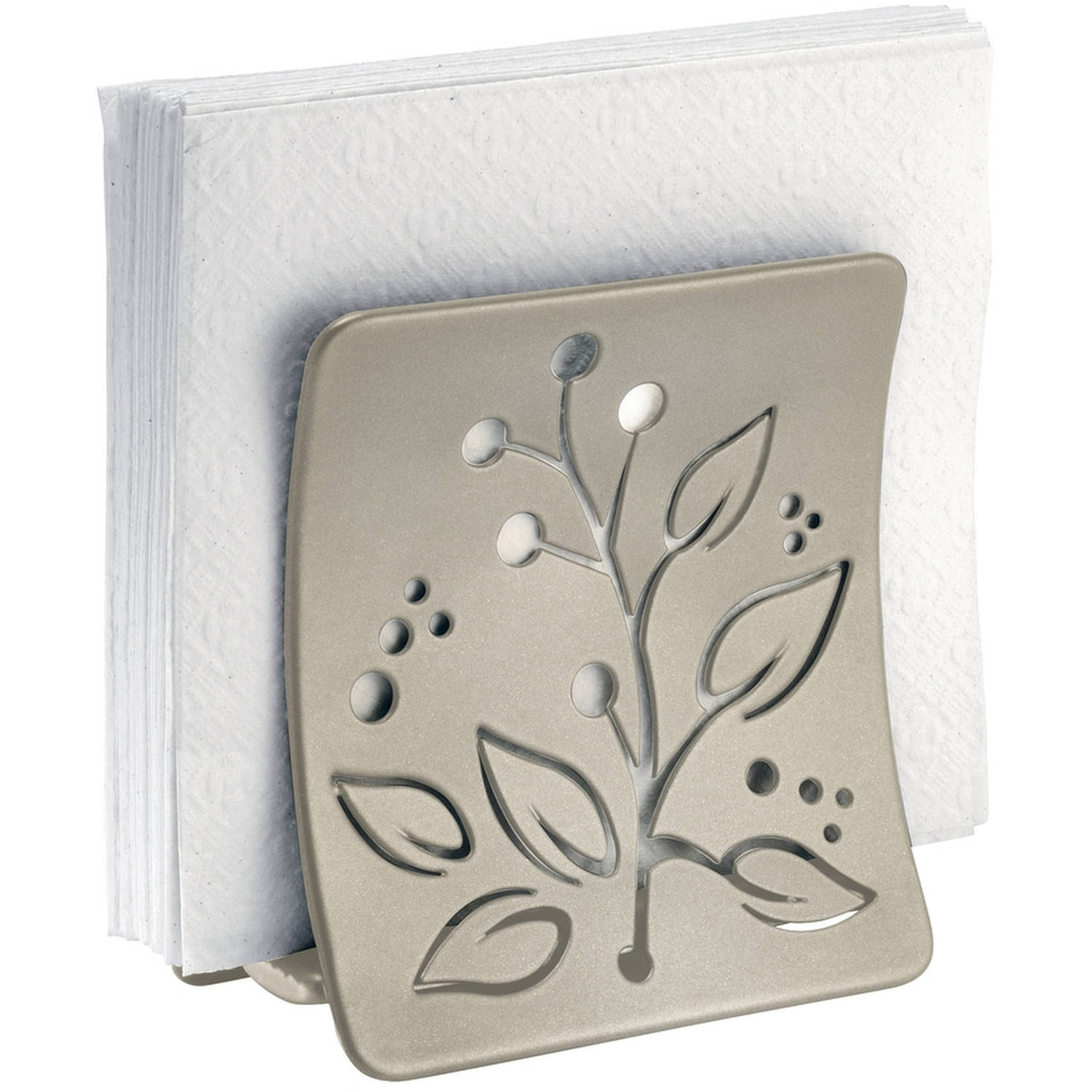 InterDesign Buco Napkin Holder, Satin