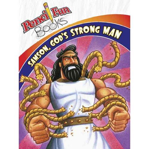 Pencil Fun Books: Samson, God's Strong Man