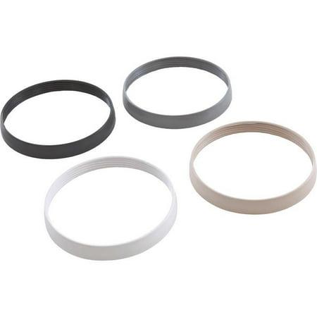PAL Lighting 39-P200-6K Trim Ring Kit - White - Black - Gray - Tan