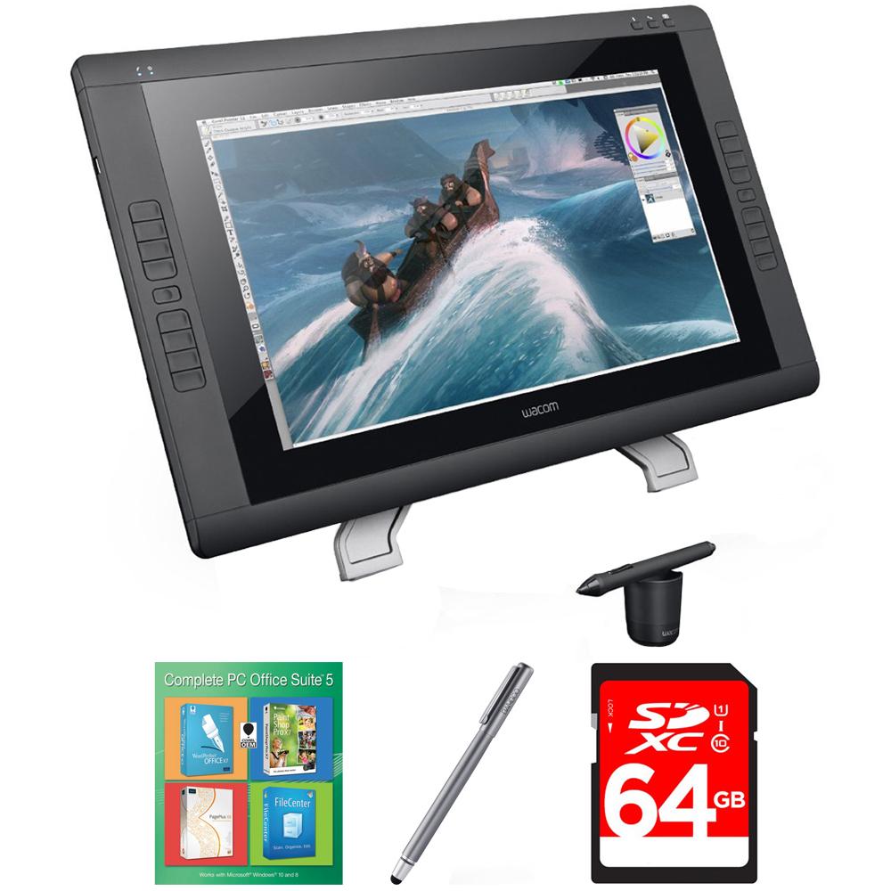 """Wacom Cintiq 22HD - 22 """" HD, wide-format Interactive Pen ..."""