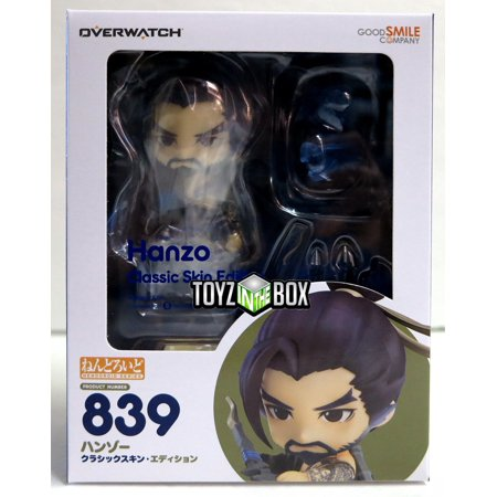 Good Smile Company Overwatch Hanzo Classic Skin Nendoroid Action Figure](Black Skin Minecraft)