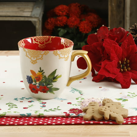 The Pioneer Woman Winter Bouquet 135oz Mug Walmartcom