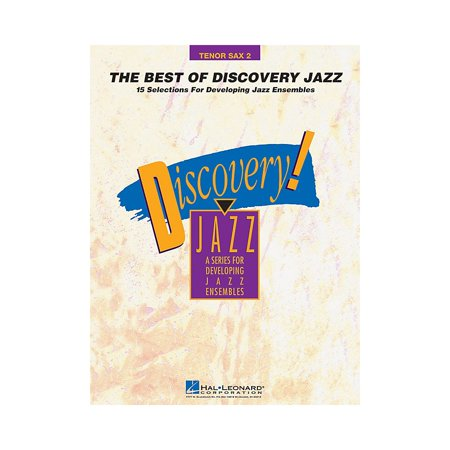 Hal Leonard The Best of Discovery Jazz (Tenor Sax 2) Jazz Band Level 1-2 Composed by (Best Tenor Sax For The Money)