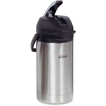 Automatic Airpot (BUNN 3.0L Stainless Steel Airpot, Stainless)