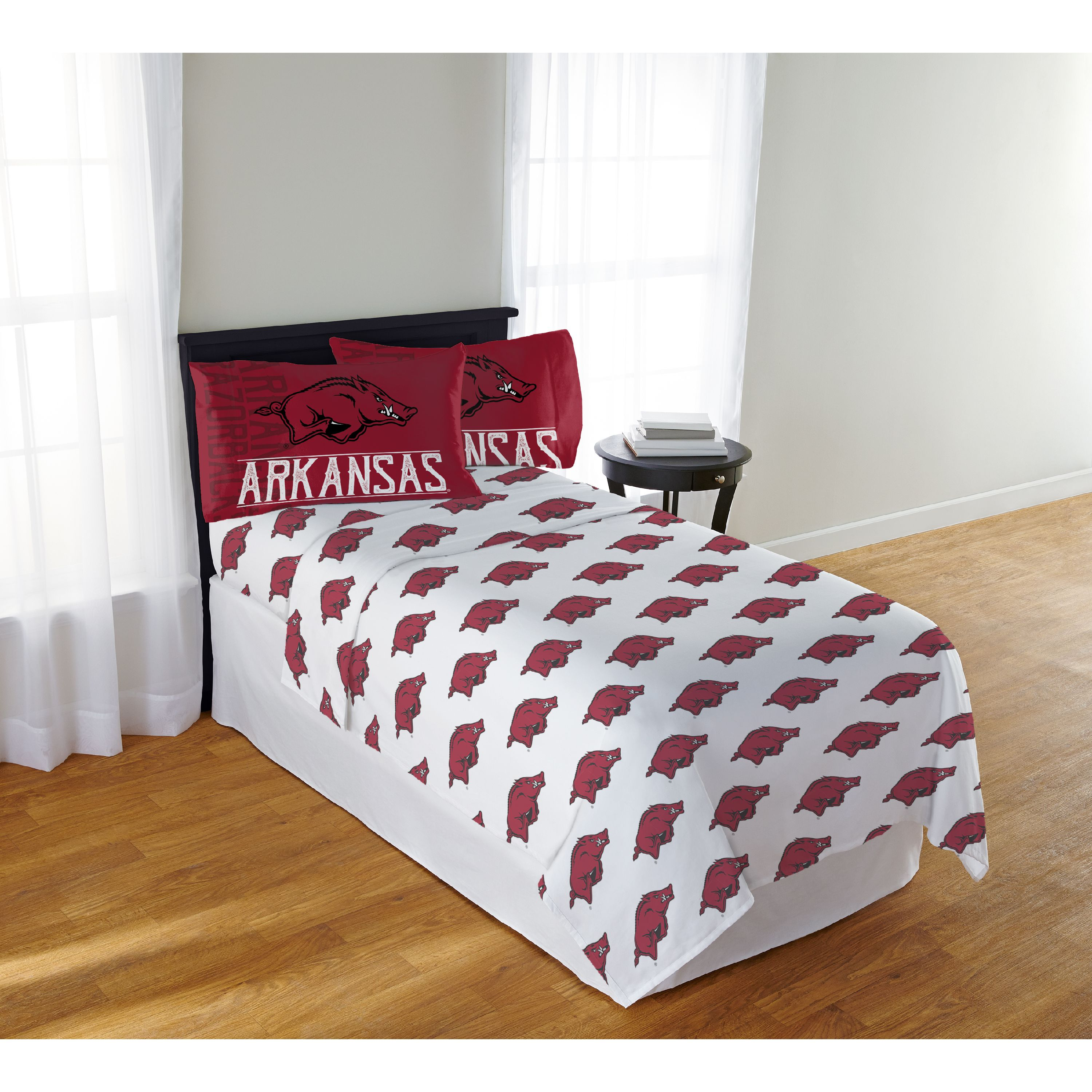 "NCAA Arkansas Razorbacks ""Affiliation"" Full Sheet Set"