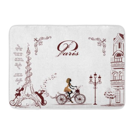 Kdagr Girl Rides Bicycle Decorated Musical Stave And
