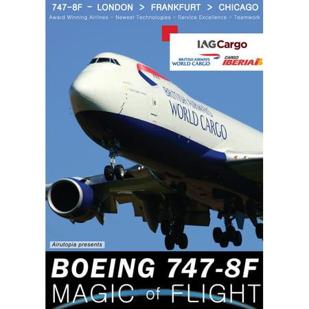 Magic Of Flight: Boeing 747-8F Cockpit British Airways World Cargo DVD