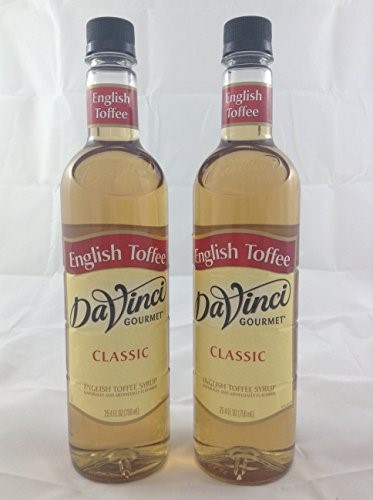 Da Vinci Classic Syrup, English Toffee, 750 mL by Kerry