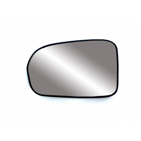 Will Not Fit Models - 88179 - Fit System Driver Side Non-heated Mirror Glass w/ backing plate, Honda Civic 01-05, will not fit hybrid model, 4 9/ 16