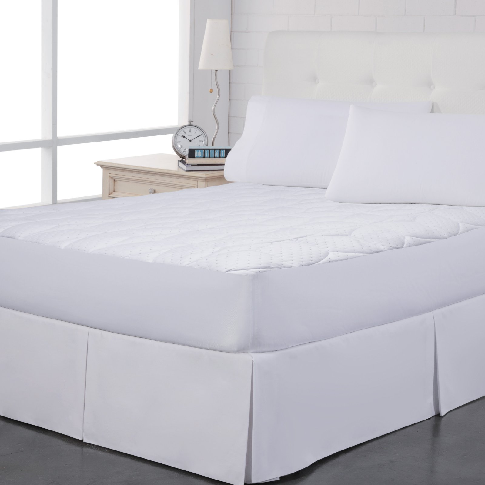 Pin Dot Mattress Pad by Perfect Fit Industries