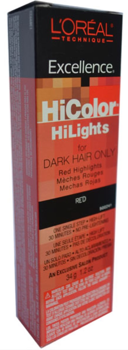Loreal Excellence Hicolor Red Hilights 12 Oz Pack Of 2