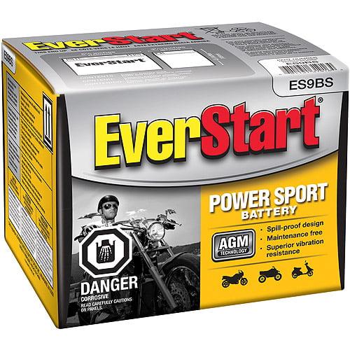 EverStart PowerSport Battery, Group Size ES9BS