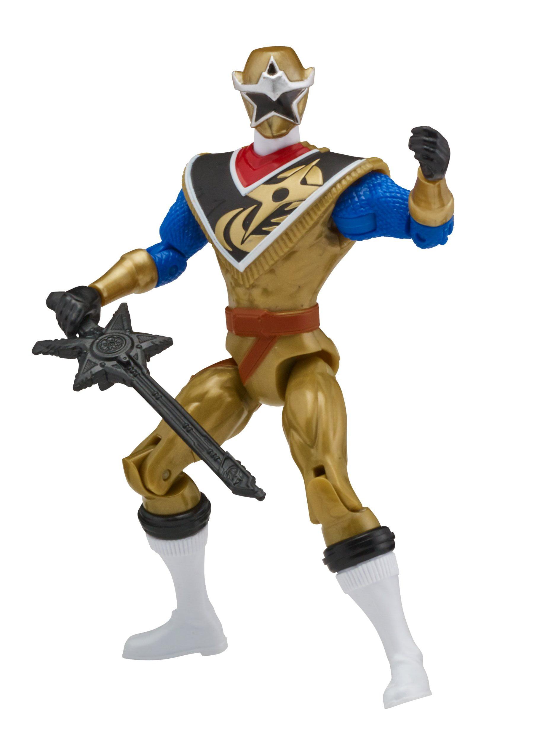 Power Rangers Super Ninja Steel 12-Inch Action Figure Gold Ranger