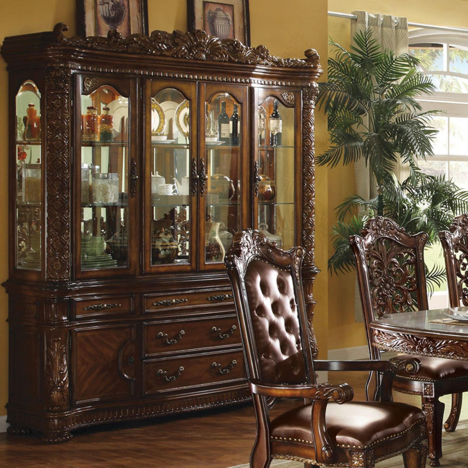 Acme Furniture Vendome China Cabinet Walmart Com