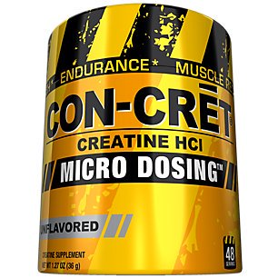 Con-Cret Unflavored Creatine- 48 Portions