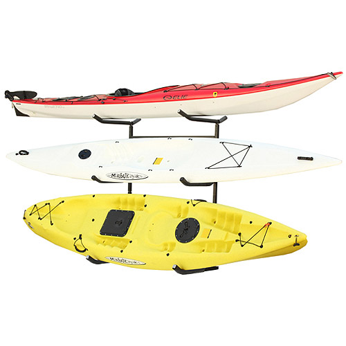 Sparehand Catalina Plus Freestanding Triple Storage Rack for 3 Kayaks or Canoes