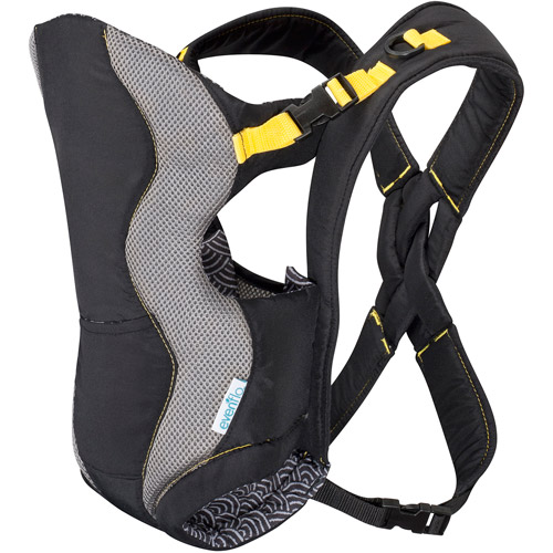 Evenflo Breathable Soft Carrier, Yellow