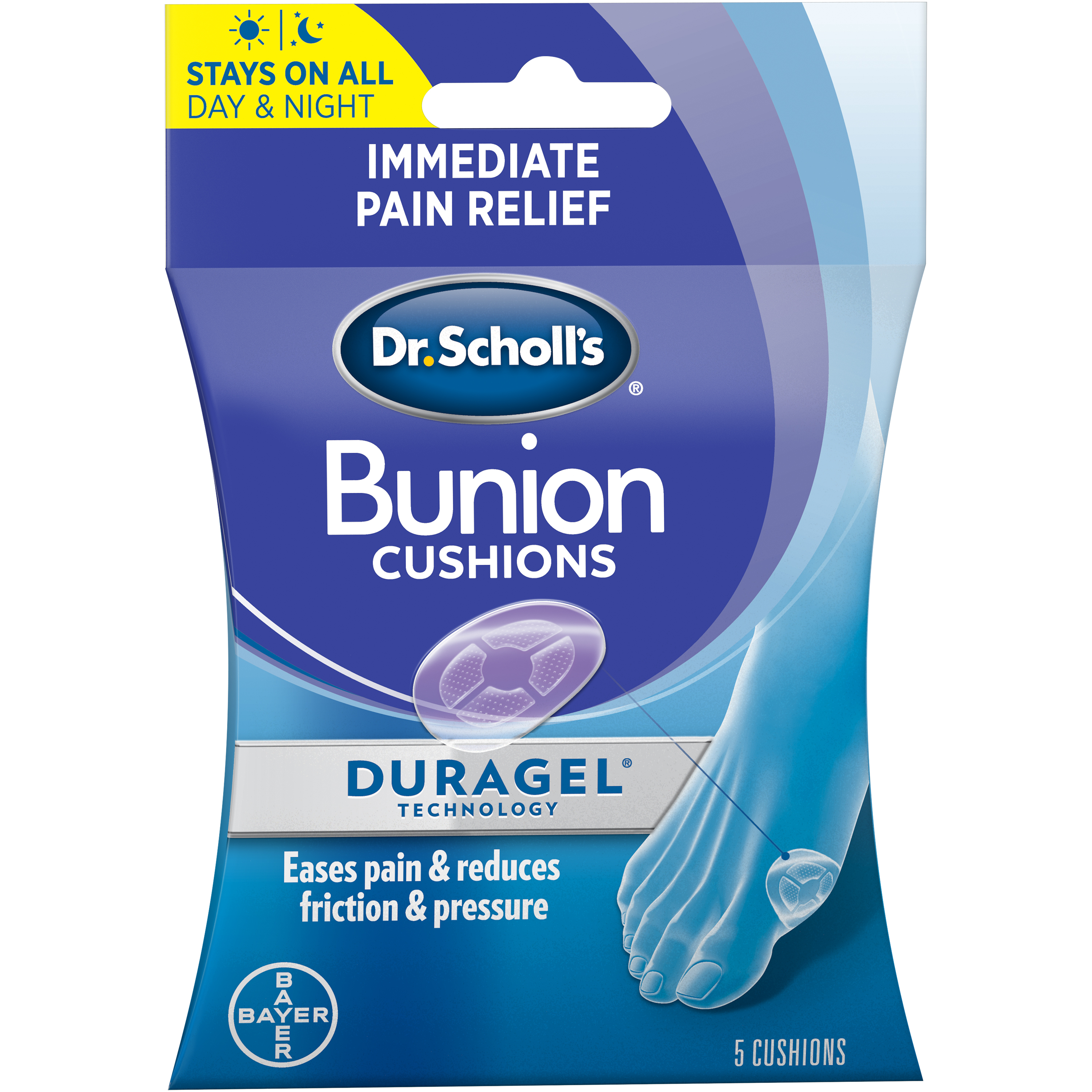 Dr. Scholl s BUNION Cushions with Duragel Technology f69cf327269