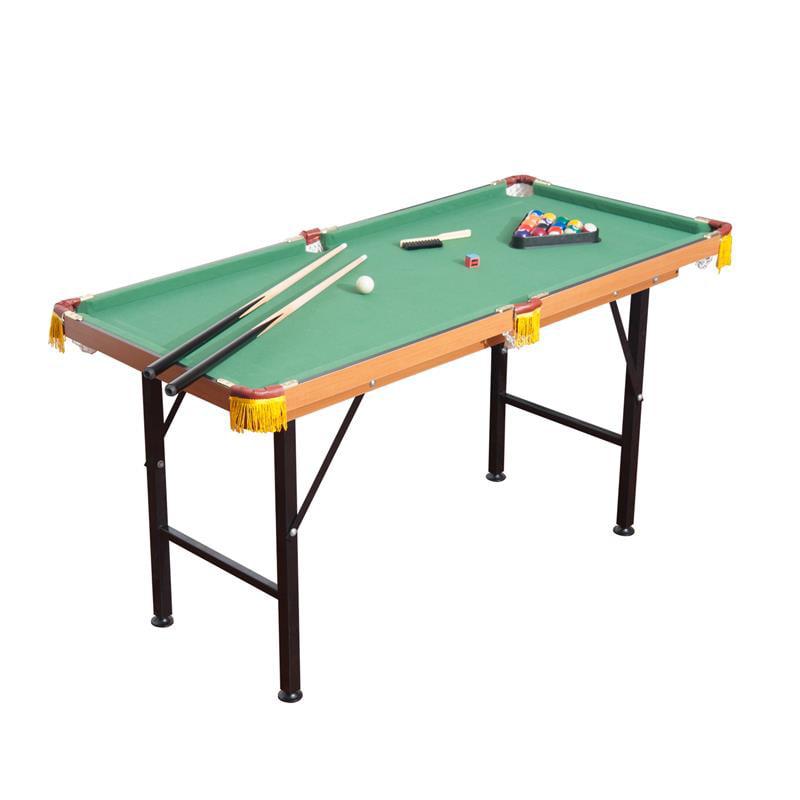 HomCom Folding Miniature Billiards Pool Table w  Cues and Balls by Aosom LLC