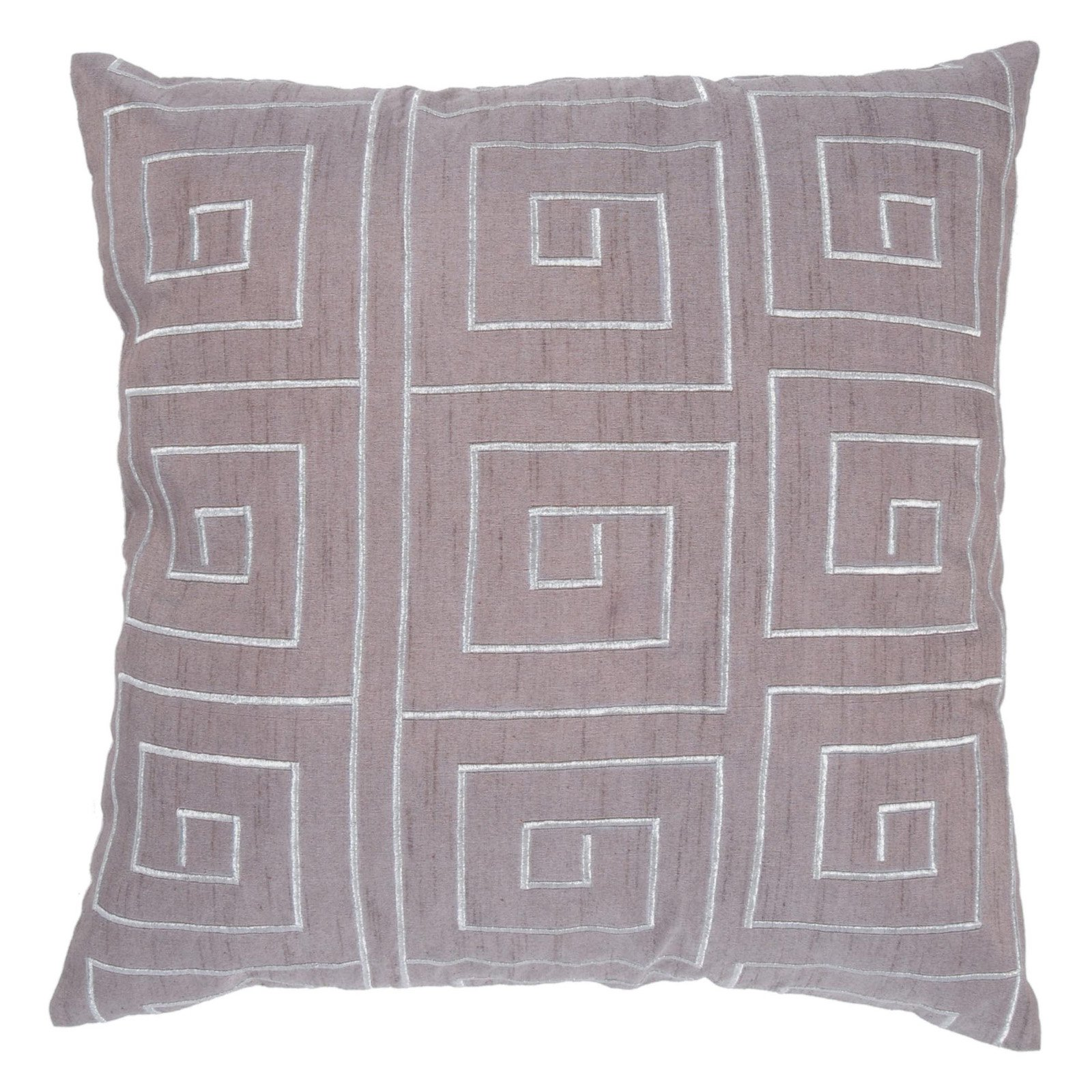 Rizzy Home Embroidered Egyptian Design Decorative Throw Pillow