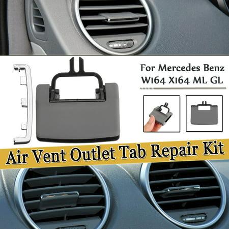 A/C Air Vent Outlet Tab Clip Repair Kit For Mercedes Benz W164 X164 ML GL (No Installation (Mercedes Benz Air Vent)