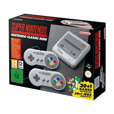 Super NES Classic](Retro 7 Black And White)