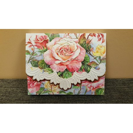 Inc. Roses in Bloom Portfolio Notecards NCP2505, By Carol Wilson Fine