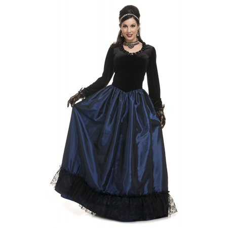 Dark Victorian Princess Adult Costume - Medium (Victorian Costumes)