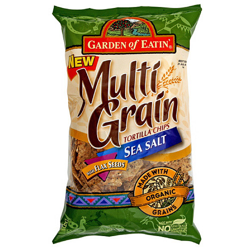 Garden Of Eatin' Sea Salt Tortilla Chips, 8.1 oz (Pack of 12)