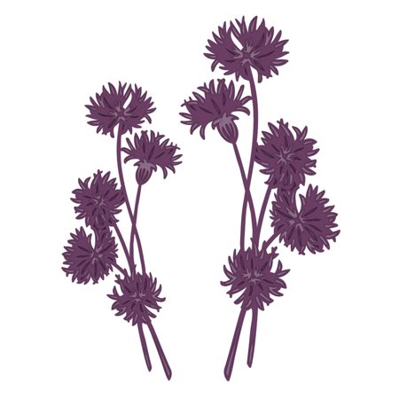 Finishing Touches Collection Dandelion Posies -