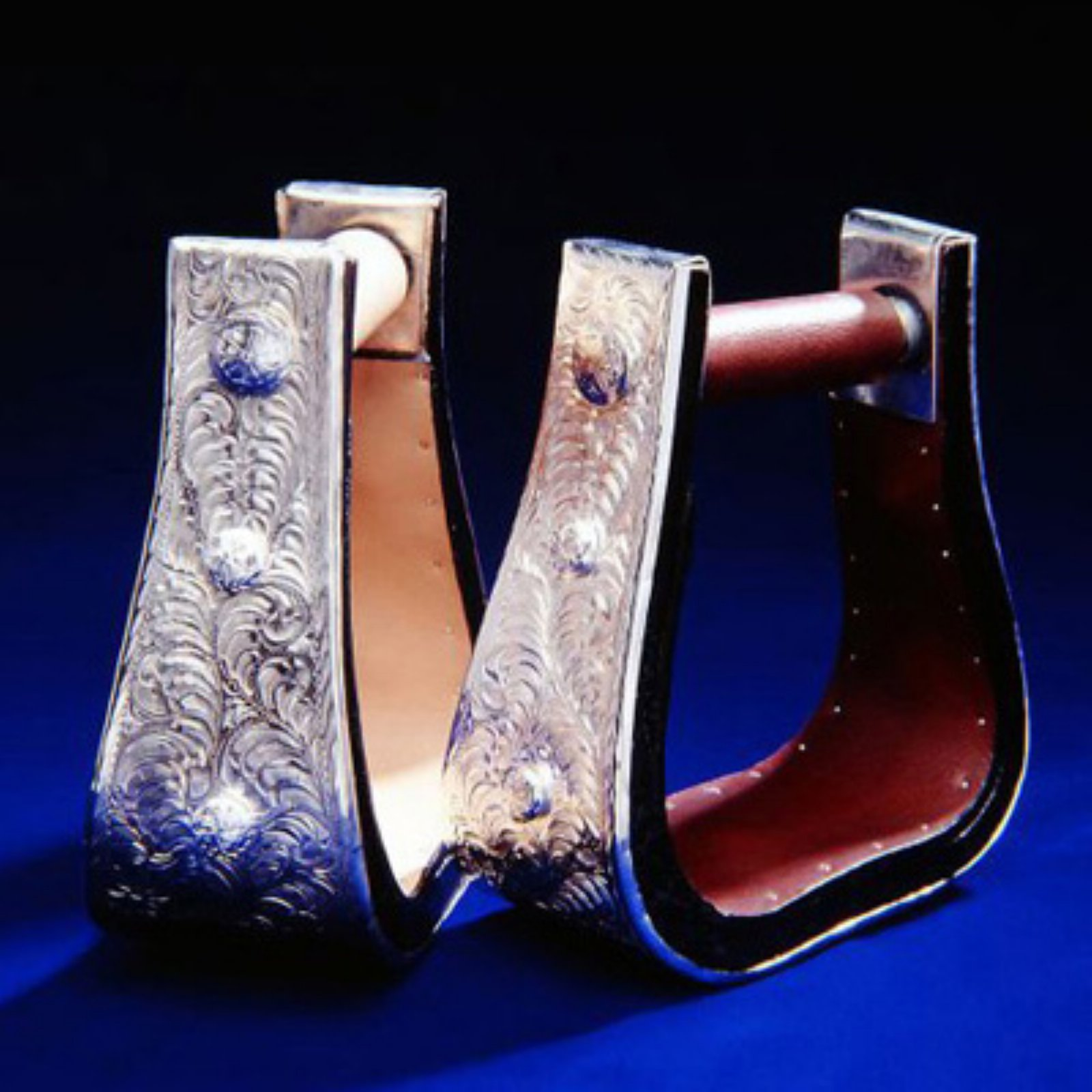 Royal King Youth Silver Bell Stirrups