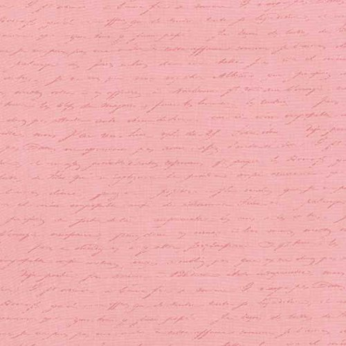 Le Jardin Parisien Beautiful Pink Tonal~Cotton Fabric by Kaufman