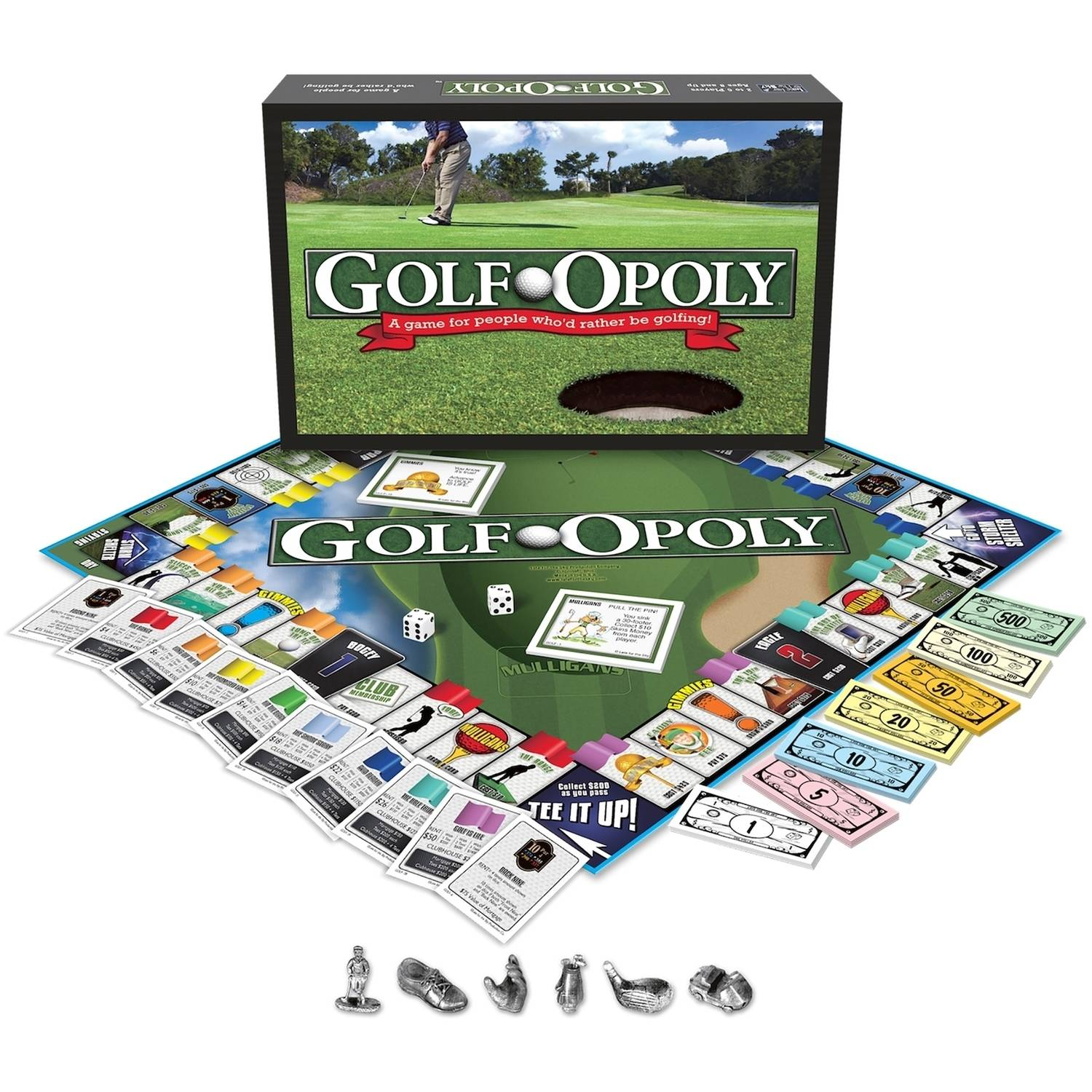 Late for the Sky Golf-opoly Game