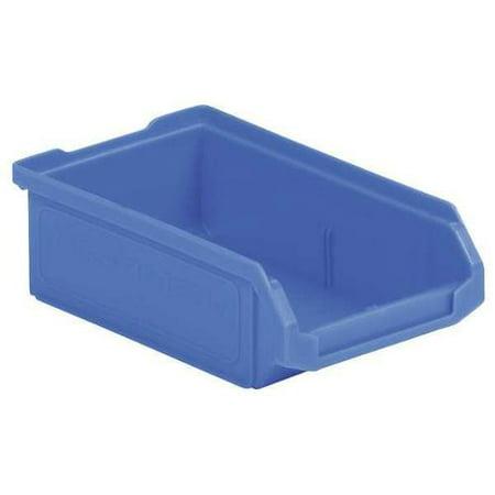 SSI SCHAEFER LF060402.0BL1 Hopper Bin,Stackable,Blue,4in.W,6in.L. G0468085