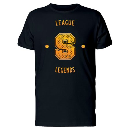 League Legends Sport Emblem Tee Men's -Image by (Best Mouse Sensitivity For League Of Legends)